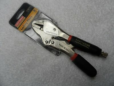 "Craftsman Professional 7"" Straight Jaw Locking Pliers, made USA - Part # 45711"