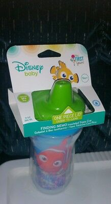 The First Years Disney Green Top Nemo Insulated Sippy Infant/Toddler Cup (1 Pk)
