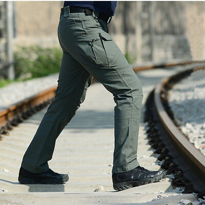 Men Outdoor Tactical Pants Army Military Combat Cargo Camo Combat Trousers Jeans