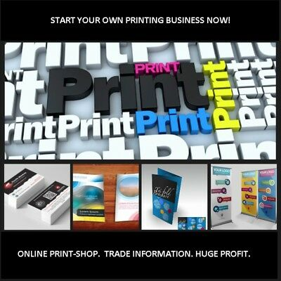 Complete  Printing  Business With  Online Print-Shop And T-Shirt Website