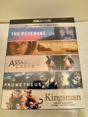 The Best of 4K Boxset 5 Movies Limited Edition French Edition with English Audio