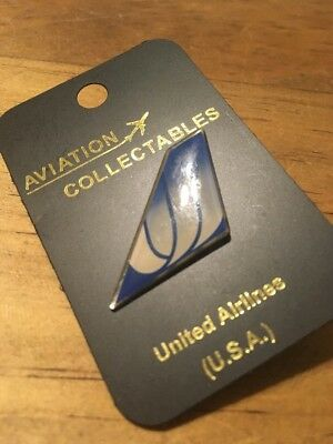 Airline Tail Lapel Pin New Never Used Legacy UNITED AIRLINES Vintage