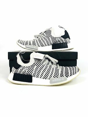 61af3295c2045 Adidas NMD R1 STLT PK Primeknit Boost Grey Two One Core Black White Men s  CQ2387