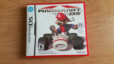 Mario Kart DS Limited Red Case and Manual - No Game.