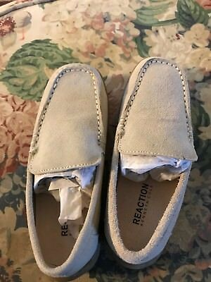 KENNETH COLE REACTION Boys Youth Size 1 Suede Tan