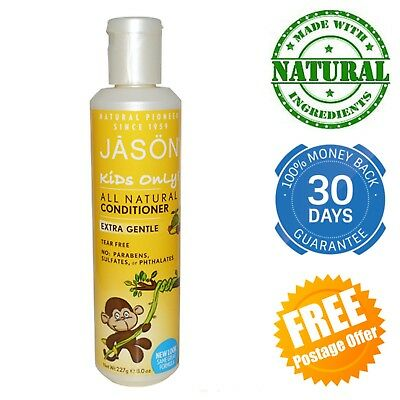 JASON Extra Gentle Conditioner Kids Only Hair Toddler Children Natural Tear Free