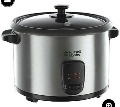 Russell Hobbs 19750 1.8L Rice Cooker - Silver
