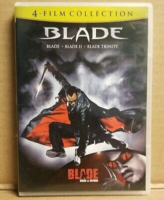 Blade 4-Film Collection 4-Discs