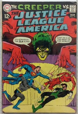 Justice League of America #70 (1969 DC 1st series) VG/FN condition 47 years old.