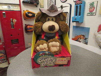 Original Cuddlin Country Bears Tyler Jr 1985 Nib