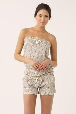 Anthropologie undrest Cami & Boyshort Wildflower Set Bloomers M 8 10 new $176