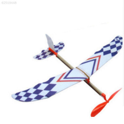 5085 Flying Glider Planes Aeroplane Toys Rubber Band Development Childrens Gift