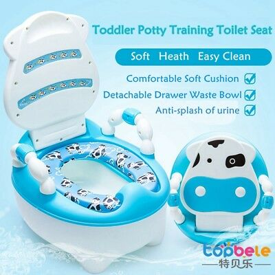 Kids Potty Chair Seat Baby Toddler Training Children Removable Toilet Seat Uk