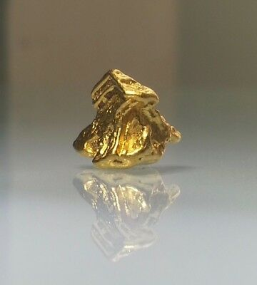 Crystalline GOLD NUGGET specimen RARE Crystalized ALASKA - HIGH END - 2.224g