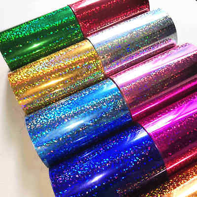 Hot Foil Sparkle Roll Stamping Blocking Foil Embossing Crafts Card Material