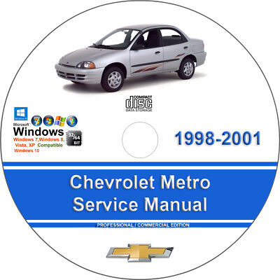 chevy metro 1998 2001 service repair manual