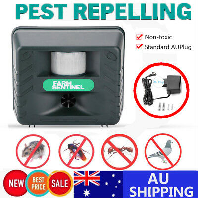 Pest Repeller-Ultrasonic-Electronic Rat Bird  Wild Animals Insect Rodent Control