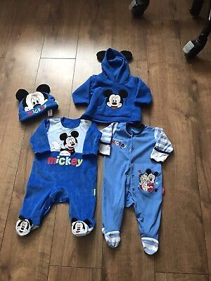 Boys Mickey Mouse Bundle First Size, EXCELLENT
