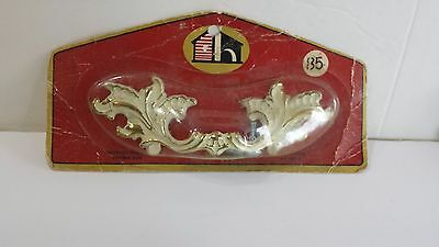 Vintage Drawer Pulls Set of 8  Handles Ornate Victorian Still in Package Canada