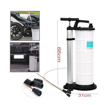 9L Manual Vacuum Fluid and Oil Extractor Suction Transfer Hand Pump Car Engine