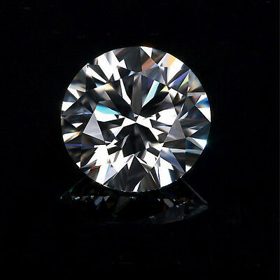 Natural White Diamond G Color 0.78cts 6mm Round Shape VS2 Clarity
