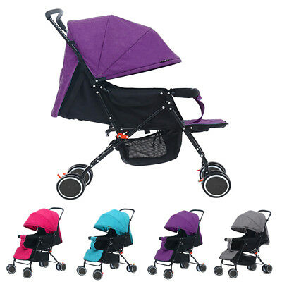 New 4 Travel Car Foldable Pushchair Newborn Baby Stroller Buggy Carriage Infant