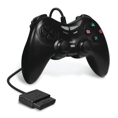 Playstation 2 PS2 Black Armor 3 Wired Game Controller  BRAND NEW RETAIL PACK