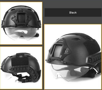 Helmet Crashworthy Head Protector Outlife Lightweight Military Tactical Airsoft