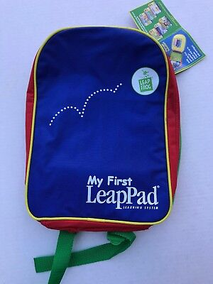 Leap Frog My First LeapPad Learning system Backpack Carrying Case
