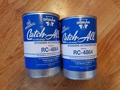 Sporlan Catch-All RC-4864 Filter-Dryer (Lot of 2) standard activated core