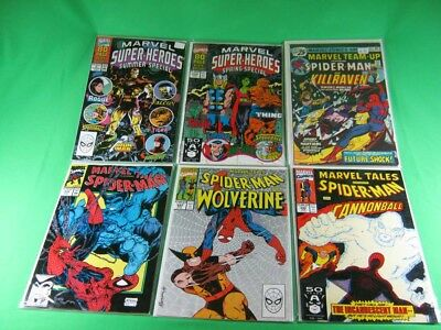 Lot of 6 Marvel Comics Marvel Specials and Tales from 1976,1990-1991 Comic Books