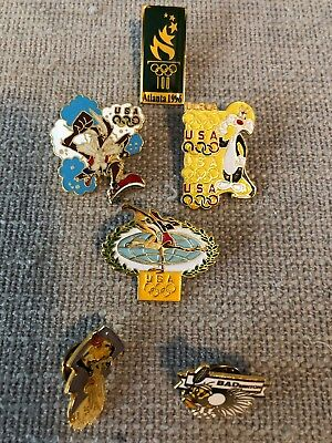 Looney Tunes Lapel Pin Olympic Series Warner Brothers