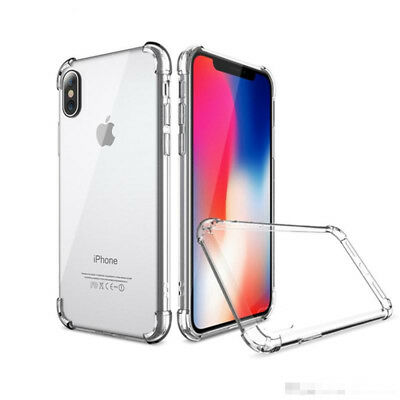 Coque Bumper Antichoc Silicone Housse iPhone XS Max XR X 8 Plus 7 Plus 6s