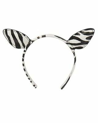 Gymboree Everyday Dress-Up Head Band Ears Zebra Mouse Hair Bows NEW NWT Lavender