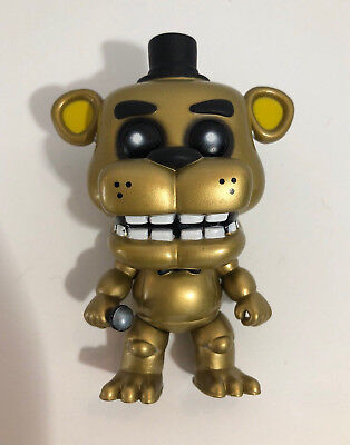 FUNKO POP! GAMES Five Nights at Freddy's Golden Freddy #119 Summer Con  Exclusive