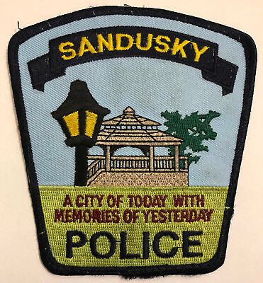 Sandusky Michigan MI Police Sheriff Patch