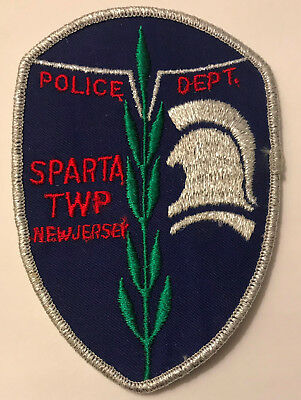 Sparta Township Sussex County New Jersey NJ Police Sheriff Patch