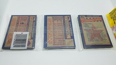 1984 Topps Baseball Unopened Rack Pack with Darryl Strawberry Rookie Card