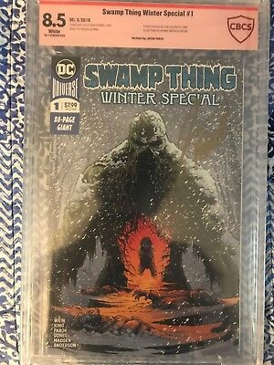 Swamp Thing Winter Special 1 SIGNED by Jason Fabok CBCS
