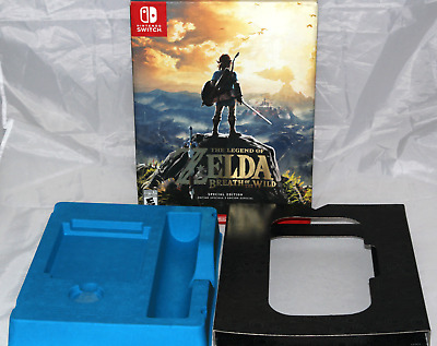 BOX ONLY Legend of Zelda: Breath of the Wild Special Edition Nintendo Switch