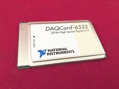 National Instruments DAQCard-6533, 32-bit High-Speed Digital I/O