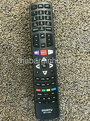 TCL TV Replacement Remote Control RC311FUI1, RC311FUI2, 06-IRPT53-NRC311 NEW
