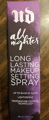 URBAN DECAY All Nighter Long Lasting Makeup Setting Spray Full Size NEW IN BOX