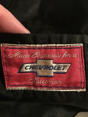 Vintage Chevrolet Salesman Patch