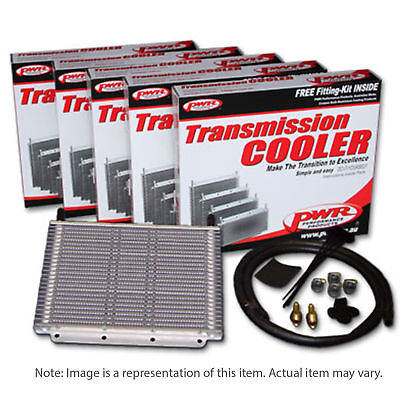 PWR Trans Oil Cooler kit - Ford Falcon AU/BA 280x255x19mm 3/8 barb PWO5389FD