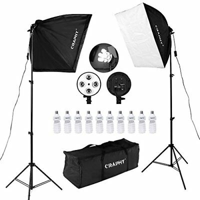 450w Photography Studio Softbox Lights Softboxes Continuous Lighting Kit With Ca