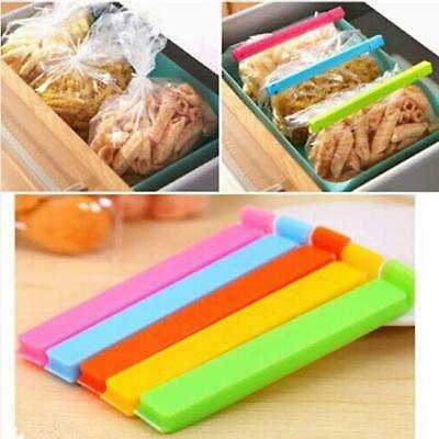 New 6pcs Plastic Fresh Snack Food Storage Bag Closer Sealing Sealer Clip