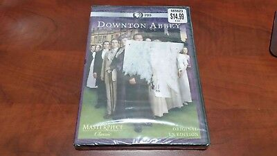 NEW SEALED Downtown Abbey - Season 1 Masterpiece Classic (DVD, 2011, 3-Disc Set)