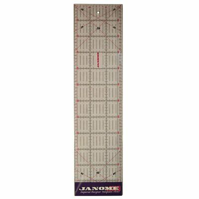 Imperial Design Template Quilting Ruler, Acrylic, Transparent, 6 x 24-Inch