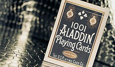 1 deck WHITE ALADDIN (1001) playing cards-S105081525-乙A2